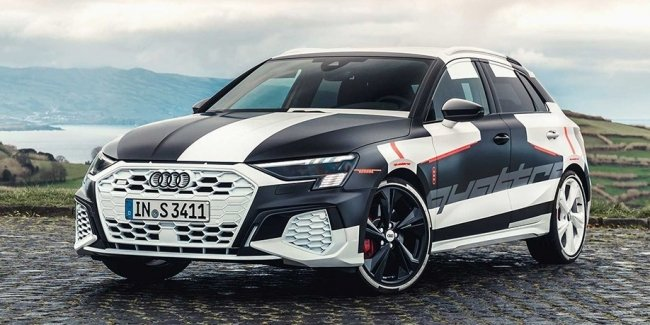 The new Audi S3 will be more powerful Mercedes-AMG A35