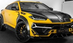 The engine of the crossover Lamborghini Urus dispersed up to 820 HP
