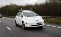 The Nissan Leaf made the most difficult journey on autopilot