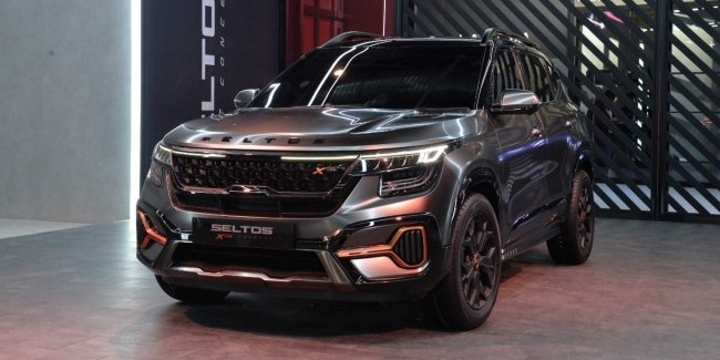 "Crossover KIA Seltos received the ""brutal"" version"