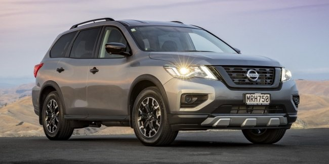 "The Nissan company presented the ""charged"" variations Pathfinder and Qashqai"