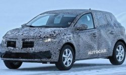 Dacia Sandero new generation noticed on tests