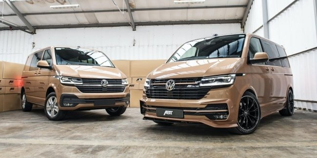 The Germans turned the updated Volkswagen T6.1 sports van