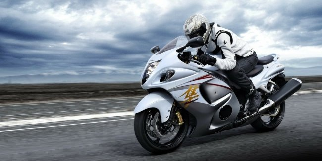 In Suzuki mentioned about the new Hayabusa