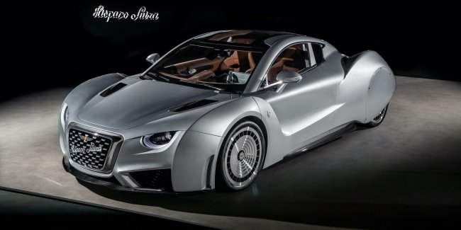 """Hispano Suiza prepared """"charged"""" version of the 1019-strong electric vehicle Carmen"""