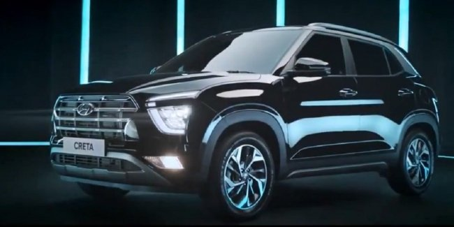 New Hyundai Creta received the original interior, without vertical screen