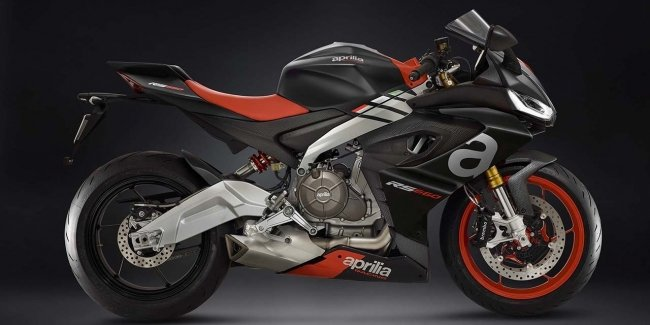 Serial sportbike Aprilia RS660 show in may