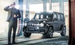 Brabus engaged in the production of armored Mercedes-Benz G-Class