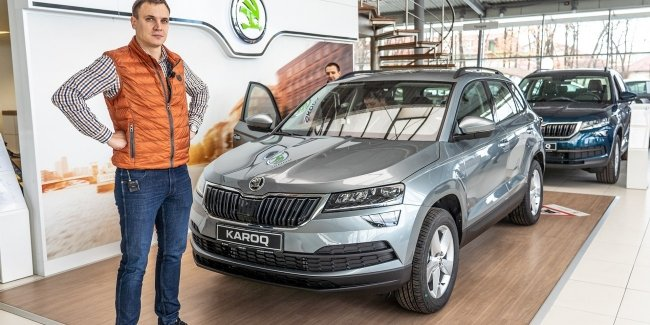 Skoda Karoq 2020: new engine, box and packaging