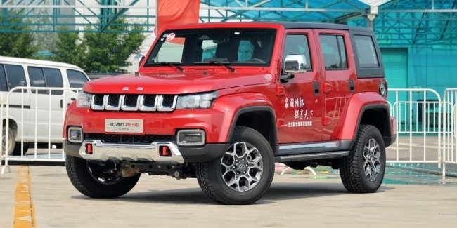 A cheap version of the Jeep Wrangler got the motor from Haval F7