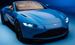 Aston Martin Vantage was the fastest in… folding roof