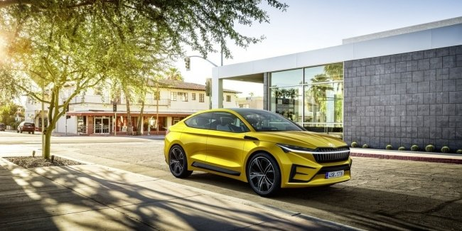 Skoda ENYAQ is the name of the first electric crossover Skoda