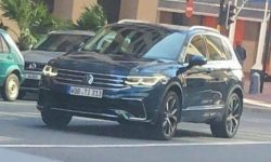 Disclosed appearance of the updated Volkswagen Tiguan