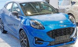 New crossover Ford Puma ST caught on the tests without camouflage