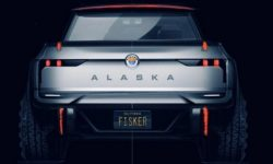 New details about the first electric pick-up Fisker