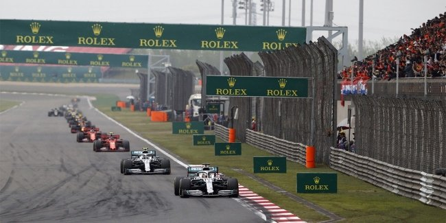 Because of the coronavirus abolished the stage of Formula 1 in China