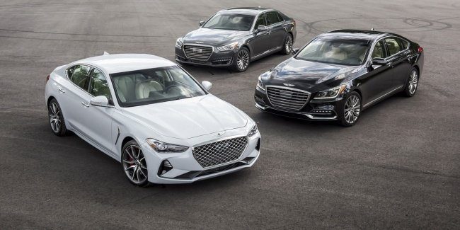 Genesis surpassed Lexus in the ranking of reliability of cars