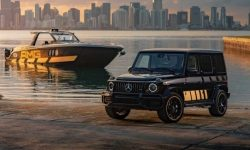 Mercedes revealed a special version of G in honor of the release of the eponymous superyacht