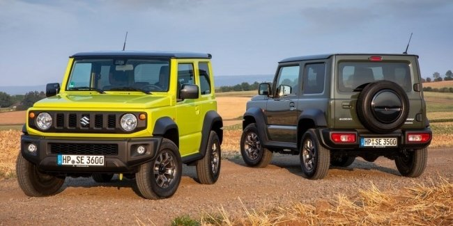 A small SUV Suzuki Jimny has caused an incredible stir in the market