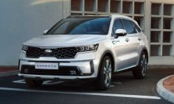The new crossover KIA Sorento has officially debuted