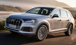 The Audi Q7 will appear in the base version with four cylinder engine
