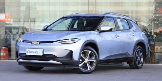 In China started selling a new crossover Chevrolet Menlo