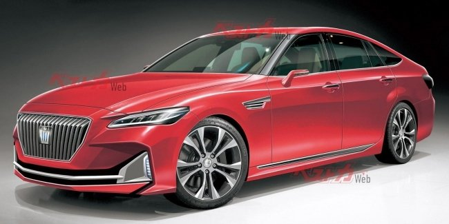 Toyota will create the successor Mark X and Crown jointly with Mazda