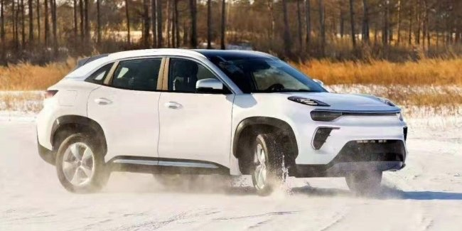 The new crossover Chery eQ5 got a full drive