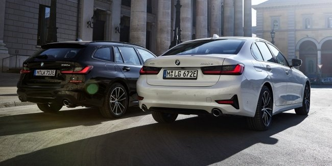 BMW showed the new 330e Touring with all-wheel drive