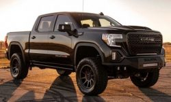Pickup truck GMC Sierra got saucy tuning by Hennessey
