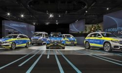 Electric car Mercedes-Benz EQC has received the German police