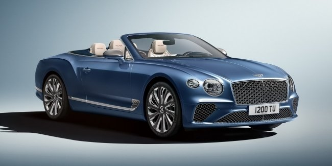 Bentley unveils luxury convertible Continental GT Mulliner
