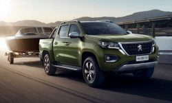 Peugeot has introduced a new pickup based on the model of Changan