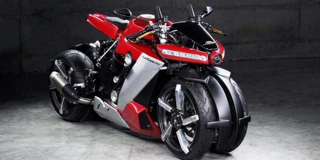 French Lazareth presented the most unusual bike in the world