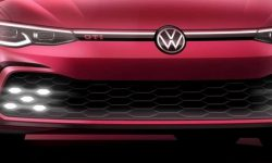 The new Volkswagen Golf GTI: first image