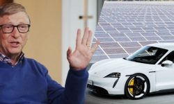 Became known why bill gates chose Porsche electric car is Tesla