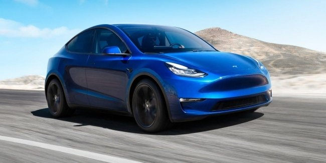 Became known to a real reserve the new Tesla Model Y