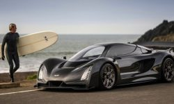 "Hypercar Czinger 21C: V8, two electric motors and 1.9 seconds to ""hundreds"""
