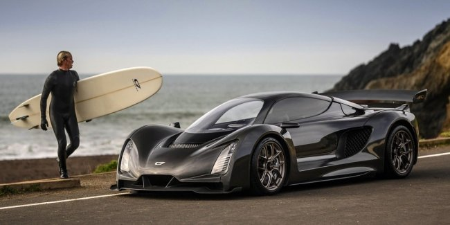 """Hypercar Czinger 21C: V8, two electric motors and 1.9 seconds to """"hundreds"""""""