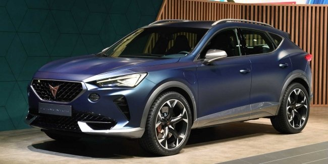Cupra will introduce in Geneva the production version of the crossover Formentor