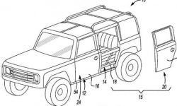Ford registers design quick door SUV Bronco