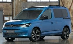 Represented Volkswagen Caddy new generation