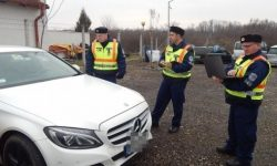 "Hungarian police checks ""of EuroBLECH"" parked near the border"