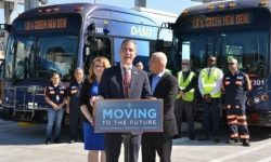 Los Angeles ordered the largest in U.S. history batch of electric buses