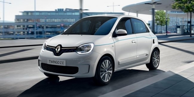 Renault Twingo Z. E: 250 kilometers without recharging, and acceleration to 50 km/h in 4 seconds