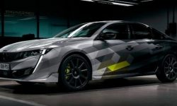 Peugeot 508 PSE will be shown at the Geneva motor show