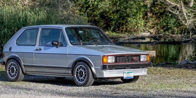 The Network showed a fully restored 40-year-old Volkswagen Golf GTI