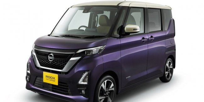Nissan introduced the compact K-Kar Roox