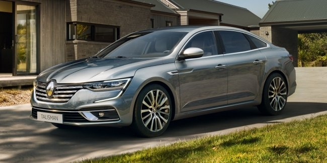 "Renault Talisman upgraded and have ""turbotron"""