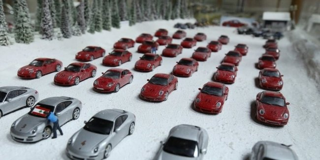 Former rally driver showed his collection of the nearly 38 thousand cars
